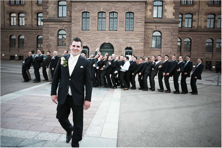Hochzeit Reithaus Gruppenfoto