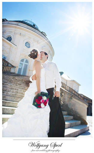 Hochzeitsfotograf Schloss Solitude