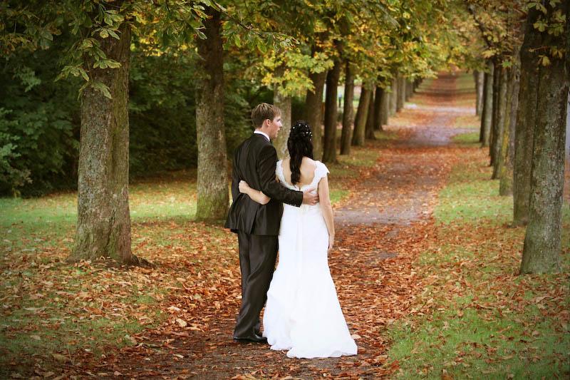 Hochzeitsfotos auf Schloss Solitude