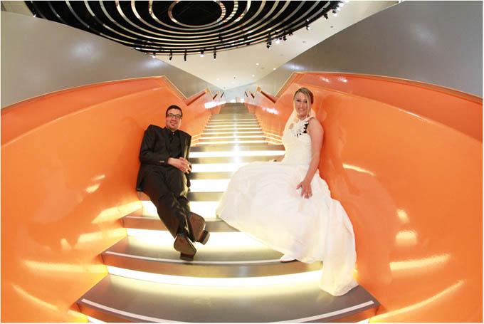 Hochzeit im Mercedes Benz Museum