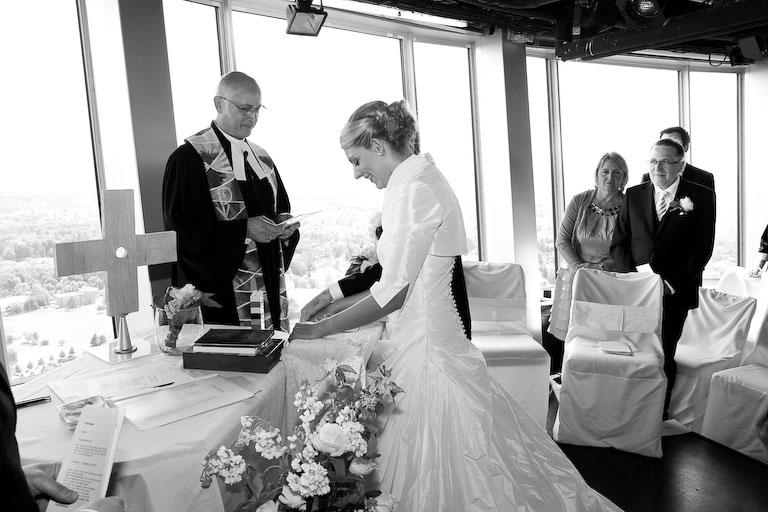 Hochzeit auf dem Fernsehturm | Hochzeitsfotograf Stuttgart