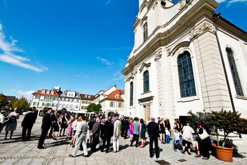 Hochzeitsfoto Heilige Dreieinigkeit Ludwigsburg